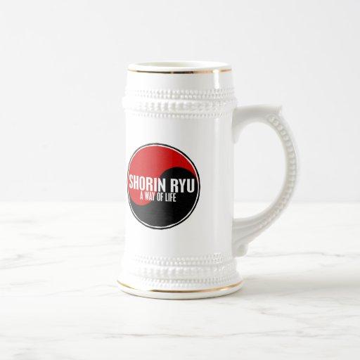 Yin Yang Shorin Ryu 1 Coffee Mugs