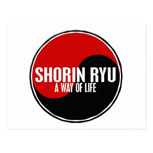 Yin Yang Shorin Ryu 1 Postcards