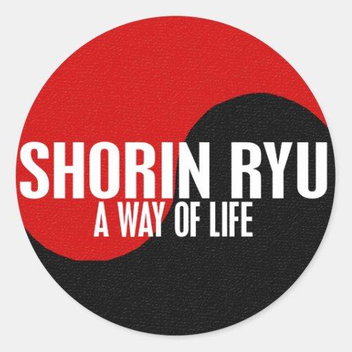 Yin Yang Shorin Ryu 1 Sticker