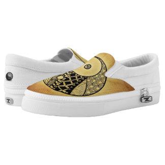 Yin Yang Slip On Shoes