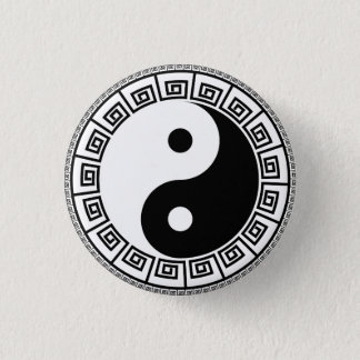 Yin Yang Small, 1¼ Inch Round Button