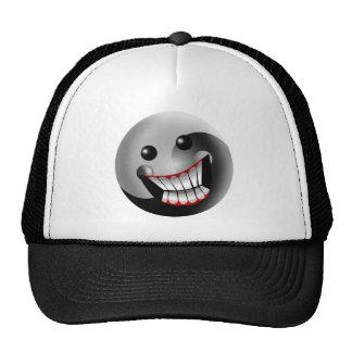 YIN YANG SMILE HAT