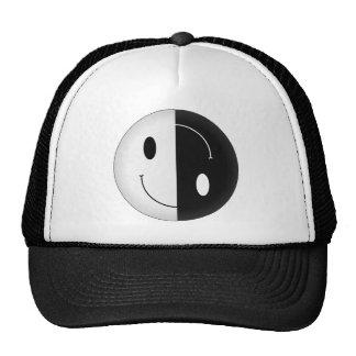 Yin Yang Smiley Cap
