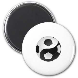Yin Yang soccer Magnet