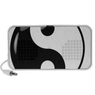 Yin yang travel speaker