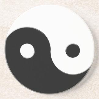 Yin & Yang Spiritual Harmony & Balance Art Coaster