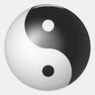 Yin & Yang Sticker