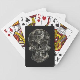 Yin Yang Sugar Skull Playing Cards