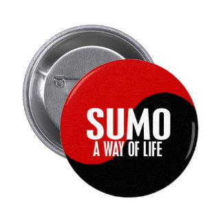Yin Yang Sumo 1 6 Cm Round Badge