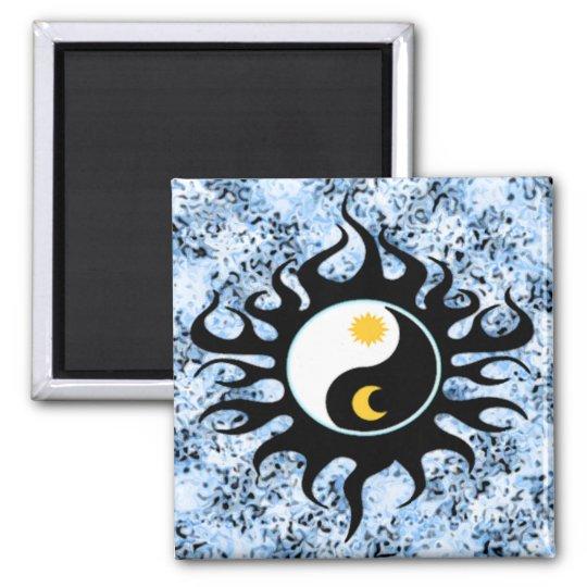 Yin Yang Sun  & Moon Magnet