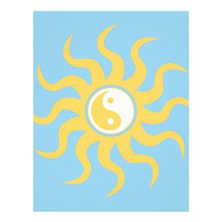 Yin yang sunshine 21.5 cm x 28 cm flyer