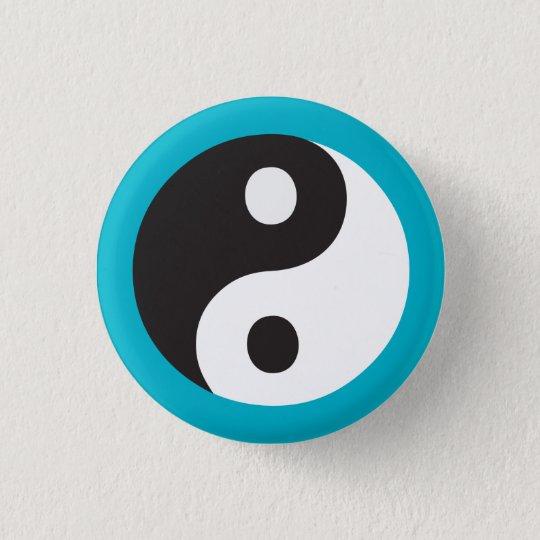 Yin Yang symbol 3 Cm Round Badge
