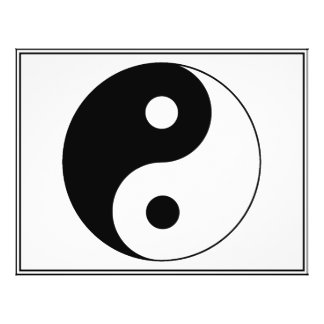 Yin / Yang Symbol Full Color Flyer