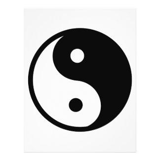 Yin Yang Symbol Flyer Design