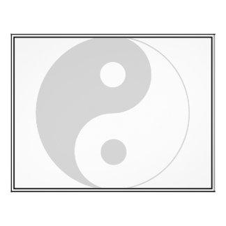 Yin Yang Symbol Flyers