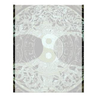Yin Yang Symbol Mandala 11.5 Cm X 14 Cm Flyer