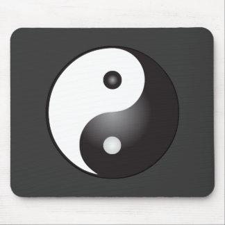 Yin Yang Symbol: Mouse Mat