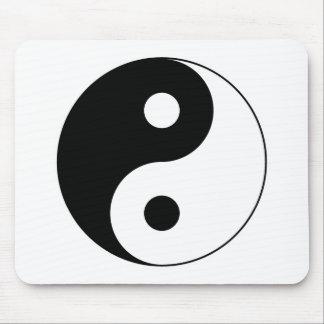 Yin Yang Symbol Mousepad
