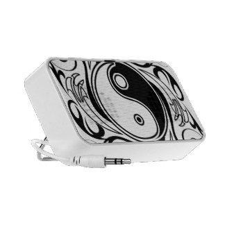 Yin & Yang Symbol iPod Speakers