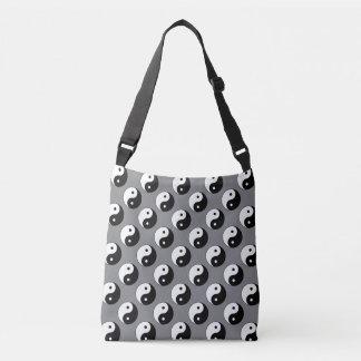 Yin Yang Symbols Crossbody Bag