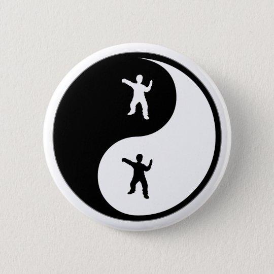Yin Yang Tai Chi 6 Cm Round Badge