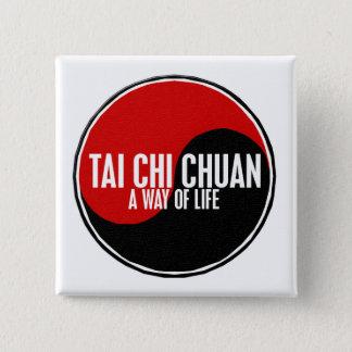 Yin Yang Tai Chi Chuan 1 15 Cm Square Badge
