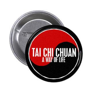 Yin Yang Tai Chi Chuan 1 6 Cm Round Badge