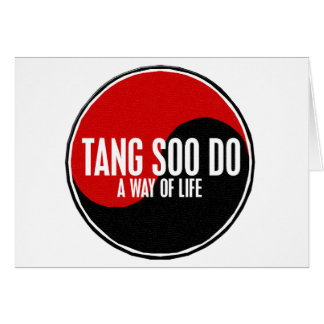 Yin Yang Tang Soo Do 1 Card