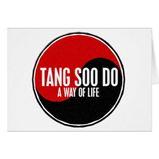 Yin Yang Tang Soo Do 1 Greeting Card