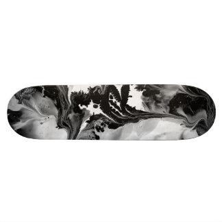 YIN - YANG TOO! (black & white art) ~ ~ Skate Boards