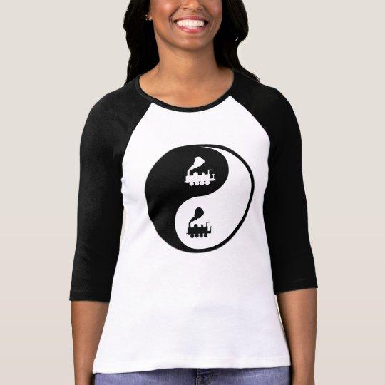 Yin Yang Trains T-Shirt