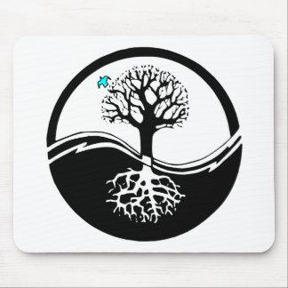 Yin Yang Tree Mouse Mat