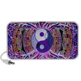 Yin Yang Tree of Life Portable Speakers