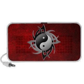 YIN YANG TRIBAL 3D MP3 SPEAKERS