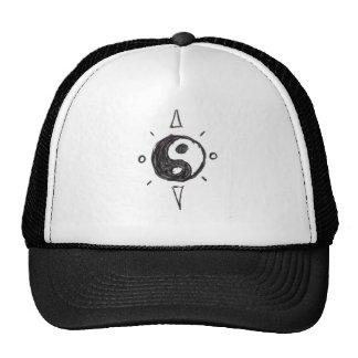 Yin-Yang Trucker hat