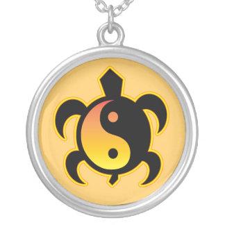Yin Yang Turtle Necklace