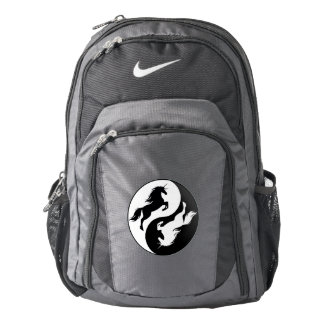 Yin Yang Unicorn Backpack