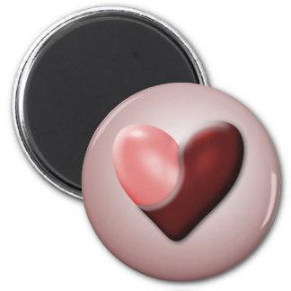 Yin & Yang Valentine Refrigerator Magnet