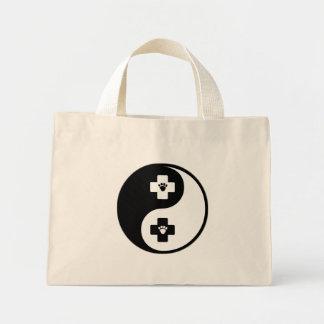 Yin Yang Veterinary Medicine Mini Tote Bag