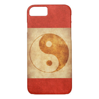 Yin Yang Vintage iPhone 7 / 6s Case witn red