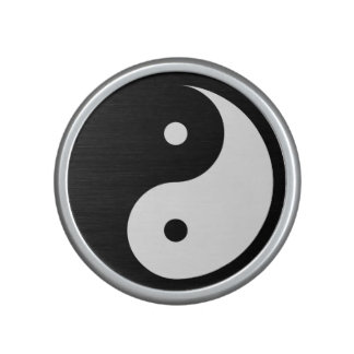 Yin Yang - white Bluetooth Speaker