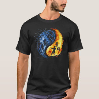 """Yin Yang - Wing Chun """"KungFu"""" Ip Man T-Shirt"""