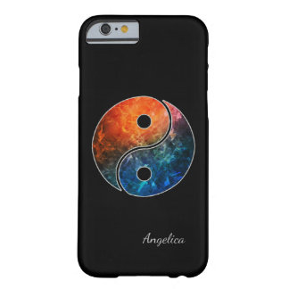 Yin Yang with (or without) your Name or Initial(s) Barely There iPhone 6 Case