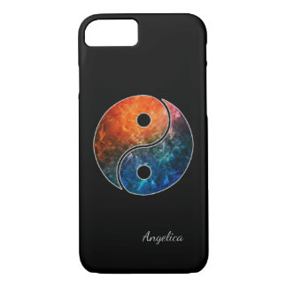 Yin Yang with (or without) your Name or Initial(s) iPhone 7 Case