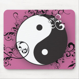 Yin-Yang with scrolling Mouse Pad