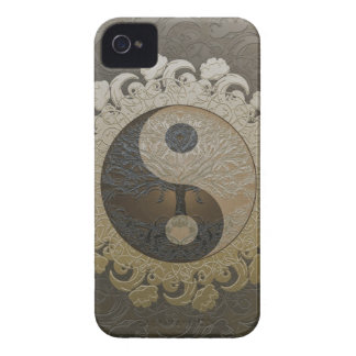 Yin Yang with Tree of Life by Amelia Carrie iPhone 4 Case-Mate Cases