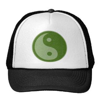 YIN YANG YINYANG GREEN CAP