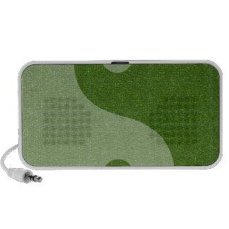YIN YANG YINYANG GREEN PC SPEAKERS