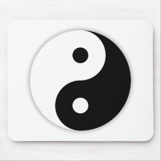 Ying and Yang Mouse Mat