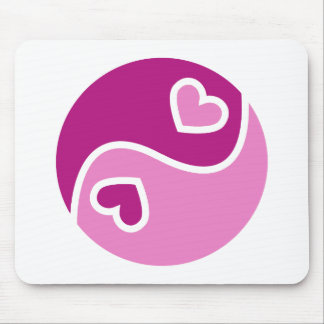 Ying And Yang Of Love Mouse Pad